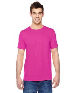 Cyber Pink 4.7 oz., 100% Sofspun™ Cotton Jersey Crew T-Shirt