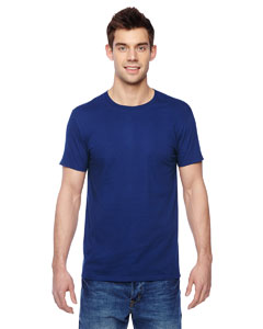 Admiral Blue 4.7 oz., 100% Sofspun™ Cotton Jersey Crew T-Shirt
