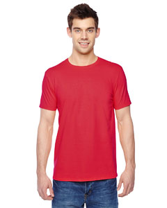 Fiery Red 4.7 oz., 100% Sofspun™ Cotton Jersey Crew T-Shirt
