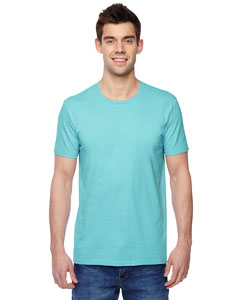 Scuba Blue 4.7 oz., 100% Sofspun™ Cotton Jersey Crew T-Shirt