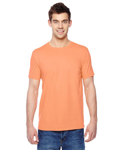 Orange Sherbet 4.7 oz., 100% Sofspun™ Cotton Jersey Crew T-Shirt