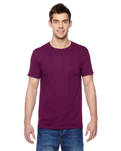 Wild Plum 4.7 oz., 100% Sofspun™ Cotton Jersey Crew T-Shirt