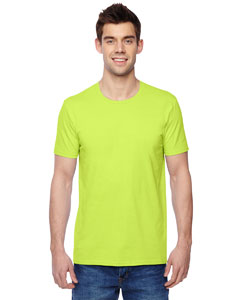 Citrus Green 4.7 oz., 100% Sofspun™ Cotton Jersey Crew T-Shirt