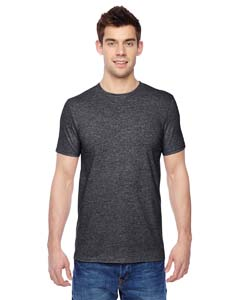 Charcoal Heather 4.7 oz., 100% Sofspun™ Cotton Jersey Crew T-Shirt
