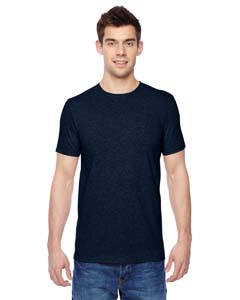 Indigo Heather 4.7 oz., 100% Sofspun™ Cotton Jersey Crew T-Shirt