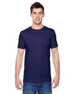 Heather Grape 4.7 oz., 100% Sofspun™ Cotton Jersey Crew T-Shirt