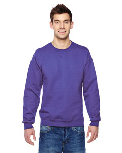 Purple 7.2 oz. Sofspun™ Crewneck Sweatshirt