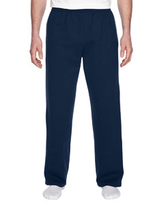 J Navy 7.2 oz. Sofspun™ Open-Bottom Pocket Sweatpants