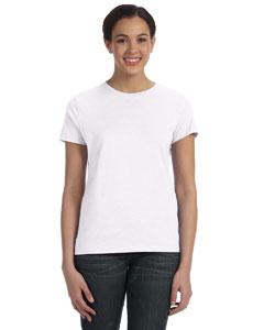 White Women's 4.5 oz., 100% Ringspun Cotton nano®-T T-Shirt