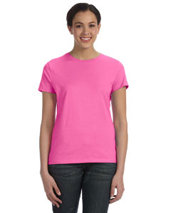 Pink Women's 4.5 oz., 100% Ringspun Cotton nano®-T T-Shirt