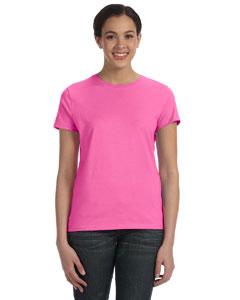Pink Women's 4.5 oz., 100% Ringspun Cotton nano®-T T-Shirt