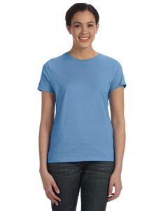 Carolina Blue Women's 4.5 oz., 100% Ringspun Cotton nano®-T T-Shirt