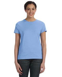 Light Blue Women's 4.5 oz., 100% Ringspun Cotton nano®-T T-Shirt
