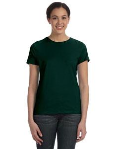 Deep Forest Women's 4.5 oz., 100% Ringspun Cotton nano®-T T-Shirt