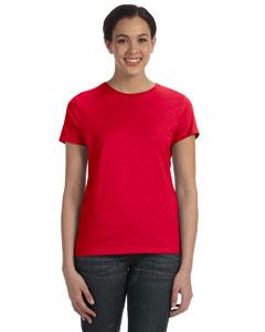 Deep Red Women's 4.5 oz., 100% Ringspun Cotton nano®-T T-Shirt