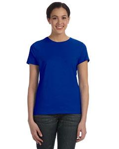 Deep Royal Women's 4.5 oz., 100% Ringspun Cotton nano®-T T-Shirt