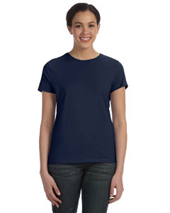 Deep Navy Women's 4.5 oz., 100% Ringspun Cotton nano®-T T-Shirt