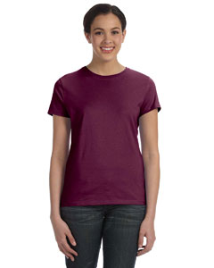 Maroon Women's 4.5 oz., 100% Ringspun Cotton nano®-T T-Shirt