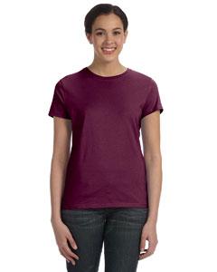 Maroon Women's 4.5 oz., 100% Ringspun Cotton nano®-T T-Shirt