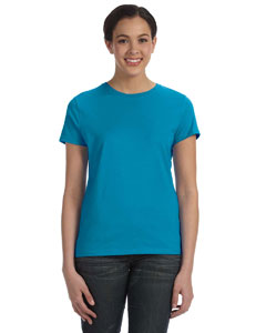 Teal Women's 4.5 oz., 100% Ringspun Cotton nano®-T T-Shirt