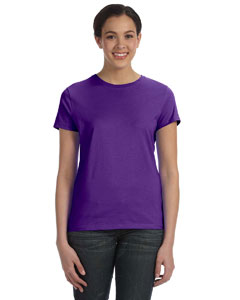 Purple Women's 4.5 oz., 100% Ringspun Cotton nano®-T T-Shirt