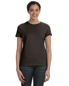 Dark Chocolate Women's 4.5 oz., 100% Ringspun Cotton nano®-T T-Shirt