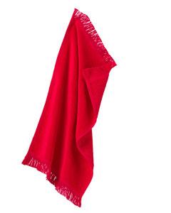 Spirit Red Fringed Spirit Towel