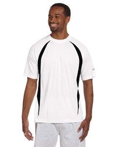 White/black Double Dry® Elevation T-Shirt