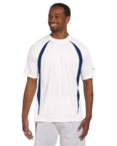White/vibe Navy Double Dry® Elevation T-Shirt