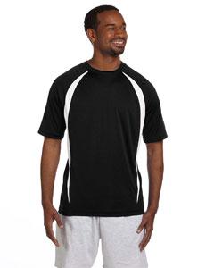 Black/white Double Dry® Elevation T-Shirt
