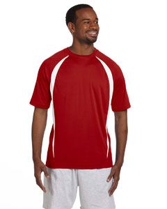 Scarlet/white Double Dry® Elevation T-Shirt