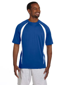 Athletic Royal/whtie Double Dry® Elevation T-Shirt