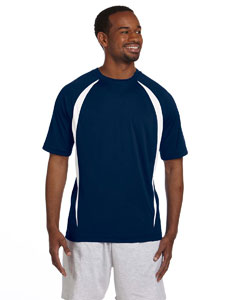 Vibe Navy/white Double Dry® Elevation T-Shirt