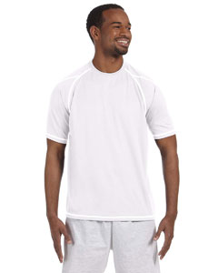 White 4.1 oz. Double Dry® T-Shirt with Odor Resistance