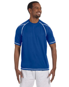 Athletic Royal Blue 4.1 oz. Double Dry® T-Shirt with Odor Resistance