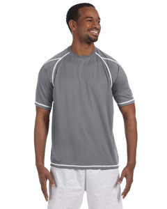 Stone Gray 4.1 oz. Double Dry® T-Shirt with Odor Resistance