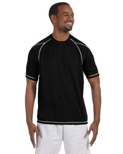 Black 4.1 oz. Double Dry® T-Shirt with Odor Resistance