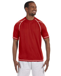 Scarlet 4.1 oz. Double Dry® T-Shirt with Odor Resistance