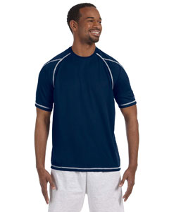 Vibe Navy 4.1 oz. Double Dry® T-Shirt with Odor Resistance