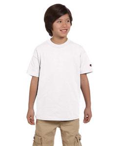 White Youth 6.1 oz. Tagless T-Shirt