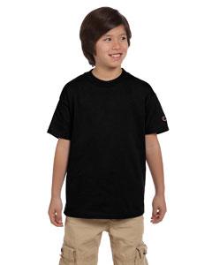 Black Youth 6.1 oz. Tagless T-Shirt