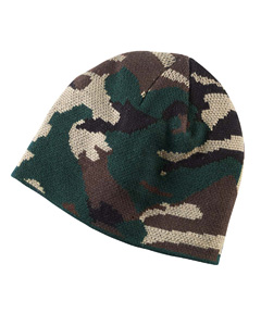 Forest Camo Knit Cap