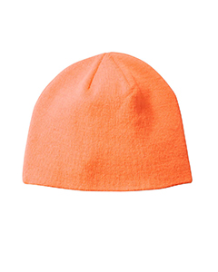 Neon Orange Knit Cap