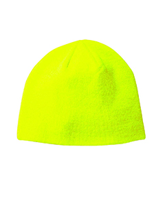 Neon Green Knit Cap