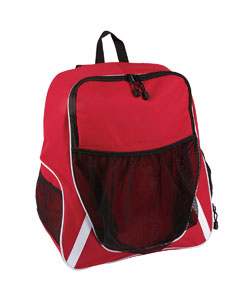 Sport Red Equipment Backpack