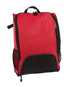 Sport Red Bat Backpack