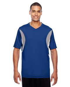 Sport Royal Men's Short-Sleeve Athletic V-Neck All Sport Jersey