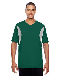 Sport Forest Men's Short-Sleeve Athletic V-Neck All Sport Jersey