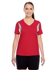 Sport Red Ladies' Short-Sleeve V-Neck All Sport Jersey