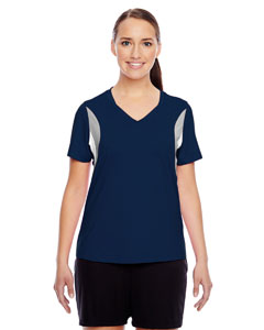 Sport Dark Navy Ladies' Short-Sleeve V-Neck All Sport Jersey